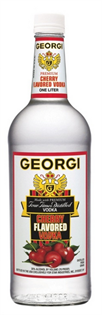 Georgi Vodka Cherry 1.00l - Case of 12